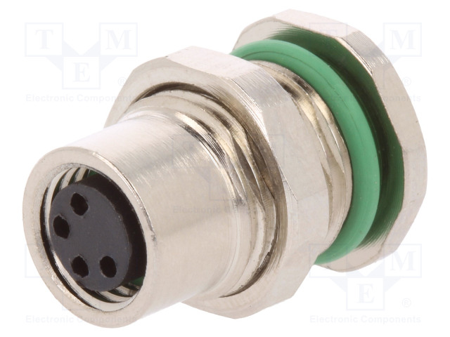 BULGIN PXMBNI08RPF04APC - Connector: M8