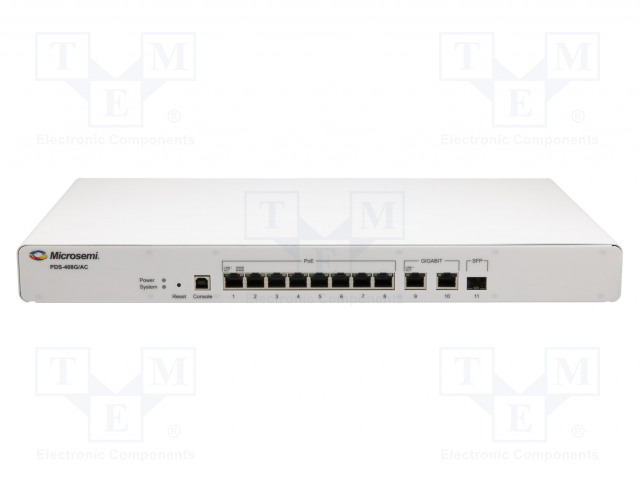 MICROCHIP TECHNOLOGY PDS-408G/AC-US - Switch Ethernet PoE