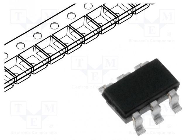 INFINEON TECHNOLOGIES BSL296SNH6327XTSA1 - Tranzistor: N-MOSFET