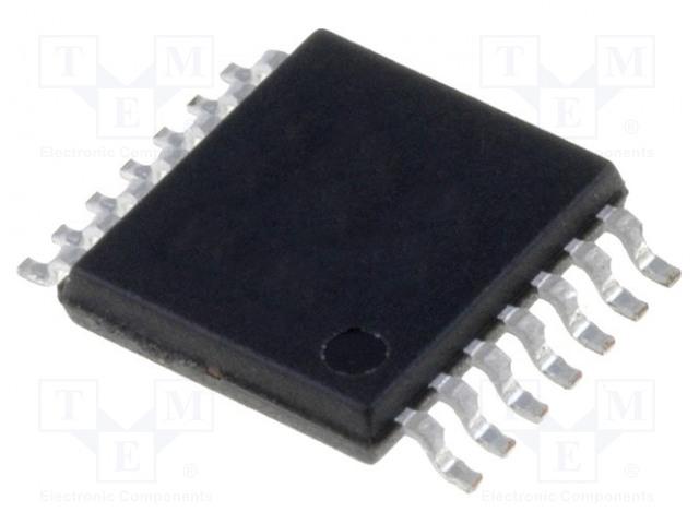 Линейный- Усилители - Инструментарий, OP Amp, Буферные усилители Операционный усилитель; 1МГц; 2,7÷6В; Каналы: 4; TSSOP14 Фото 1.