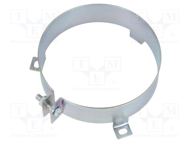 Аксессуары Обойма для конденсаторов; горизонтальная; сталь оцинкованная Фото 1.