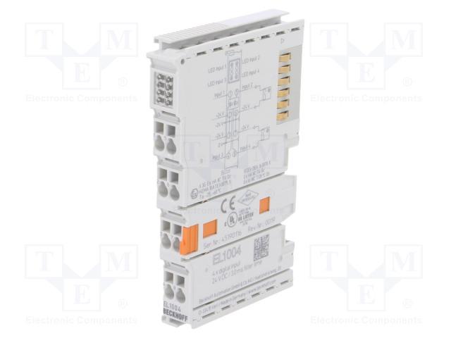 Beckhoff Automation EL1004 - Industrial module: digital input