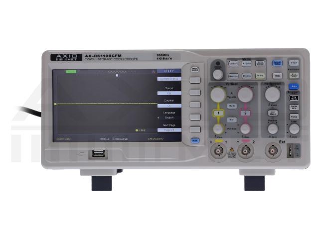AX-DS1100CFM AXIOMET, Osciloskop
