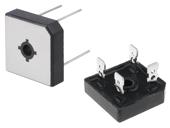 Puentes monofásicos de diodos cuadrados