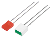 THT LEDs rectangle