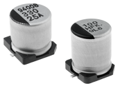 SMD low imped. electrolytic capacitors