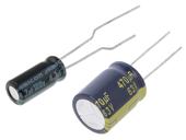 Elektrolytické kondenzátory THT 135°C