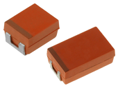SMD niobium capacitors