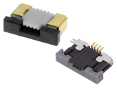 Connectors FFC (FPC) 0,5mm