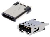 USB ja IEEE1394 liittimet