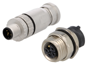 M12 plugs and sockets