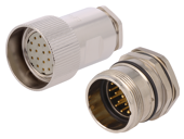 M23 connectors