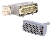 Rectangular multipole connectors