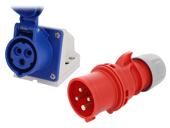 Многофазные разъемы IEC 60309