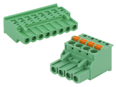 Pluggable terminal blocks