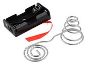 Baterie - pojemniki i uchwyty