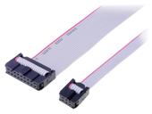 Flachbandkabel mit IDC Steckverbinder
