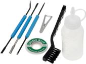 Various soldering tools