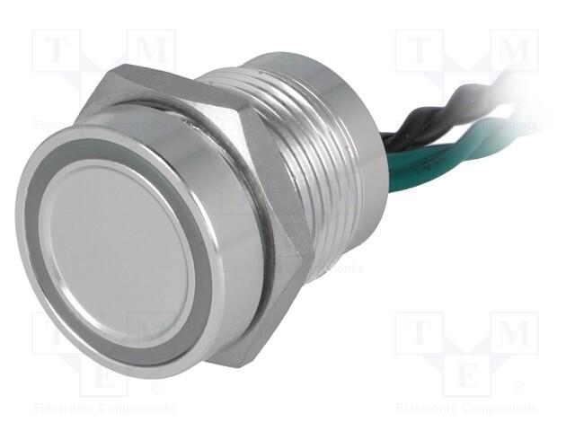 ONPOW PS165P10YNT1G12V - Comutator: piezoelectric