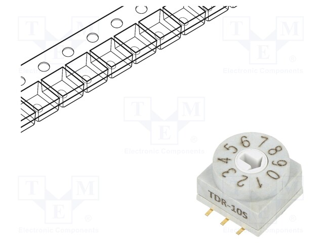 SUNGMUN ELECTRONICS CO., LTD. TDR-10S-TR - Encoding switch