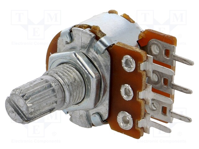 SR PASSIVES R16148-1B-2-B100K - Potentiometer: shaft