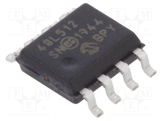 MICROCHIP TECHNOLOGY 48L512-I/SN - Paměť SRAM