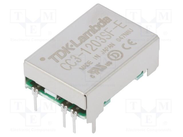 TDK-LAMBDA CC3-1203SF-E - Converter: DC/DC