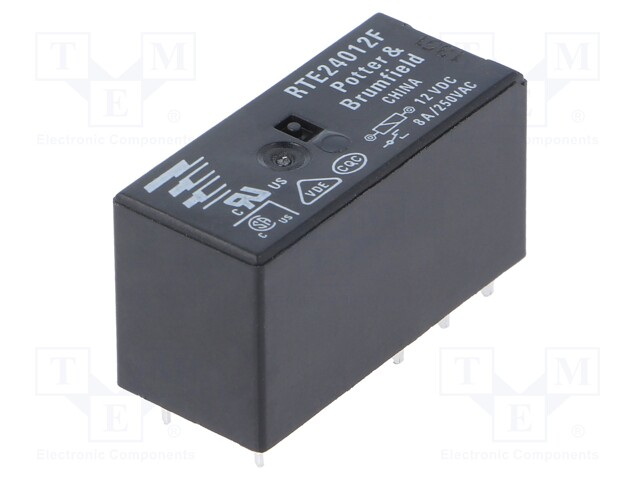 TE Connectivity 3-1393237-1 - Relay: electromagnetic
