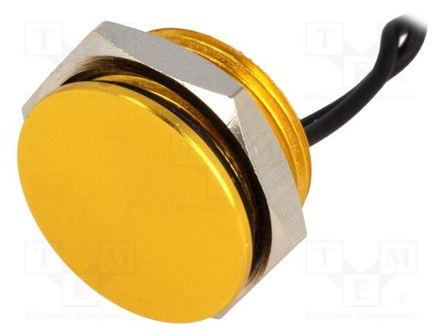 ONPOW PS161P10YGD1 - Comutator: piezoelectric
