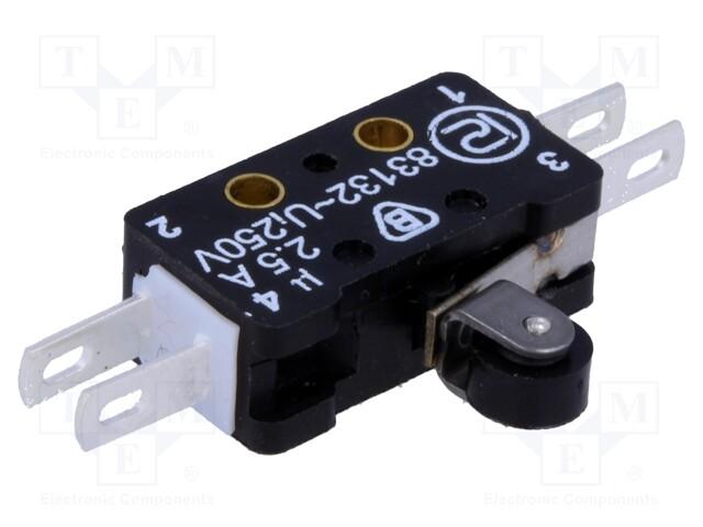 PROMET 83 132 S54 ER7.5 - Mikroprzełącznik SNAP ACTION
