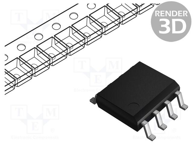 TEXAS INSTRUMENTS BQ2057SN - Supervisor Integrated Circuit
