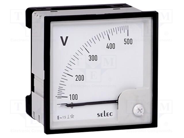 SELEC GMBH AM-V-3-L-CE - Voltímetro