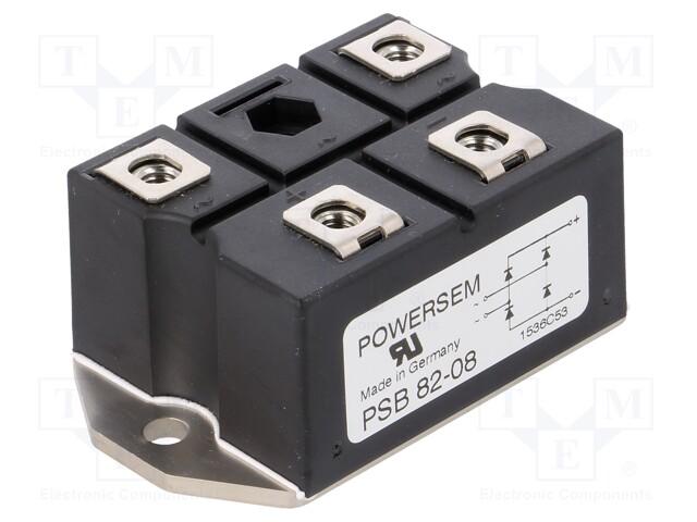POWERSEM PSB 82/08 - Single-phase bridge rectifier