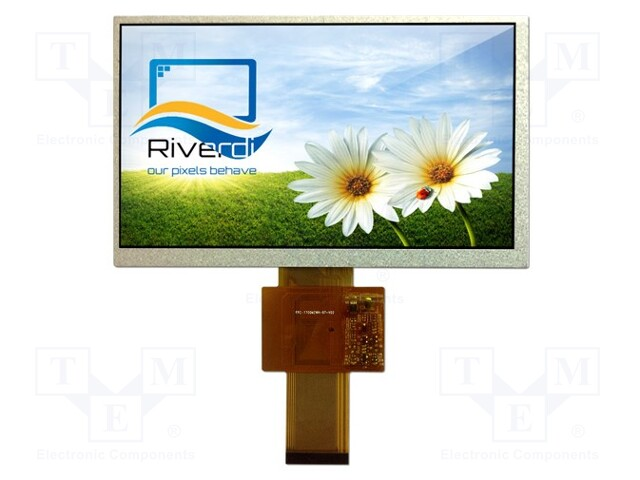 Riverdi RVT7.0A800480TNWN00 - Display: TFT