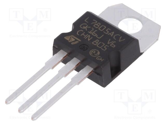 STMicroelectronics L7805ACV - IC: stabilisateur de tension
