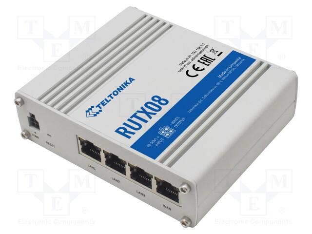 TELTONIKA RUTX08000000 - Moduł: modem przemysłowy