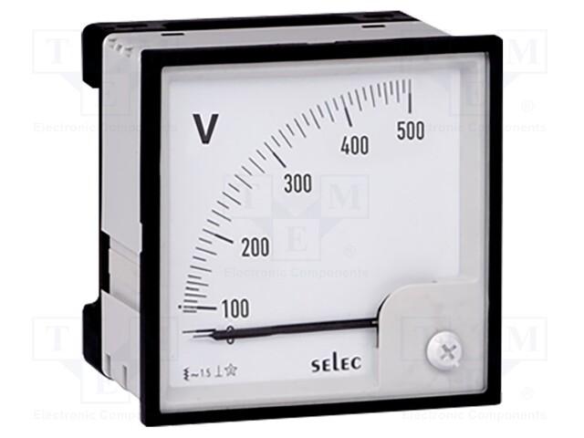 SELEC GMBH AM-V-2-L-CE - Voltímetro