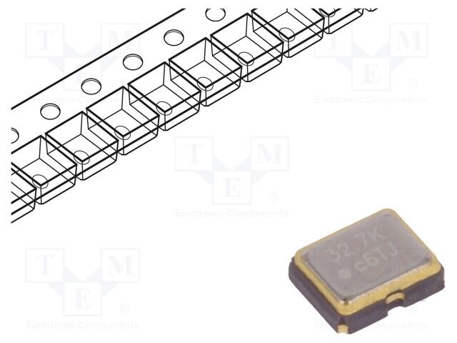 IQD FREQUENCY PRODUCTS LFSPXO009682CUTT - Generator: quartz