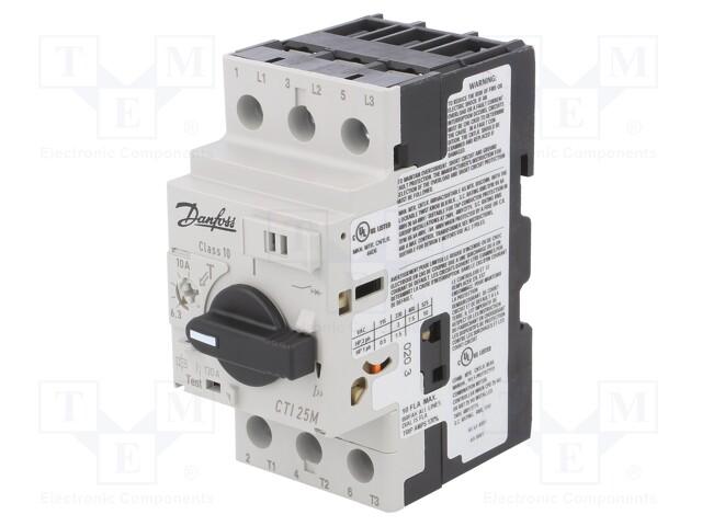 DANFOSS CTI 25M 6.3-10A - Motorový jistič