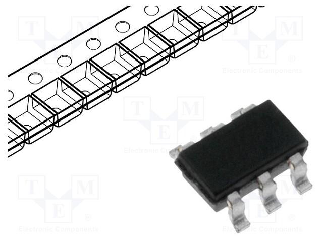 MICROCHIP TECHNOLOGY PIC10F320T-I/OT - Mikrokontroler PIC