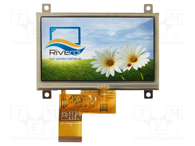 Riverdi RVT4.3A480272TFWR00 - Display: TFT