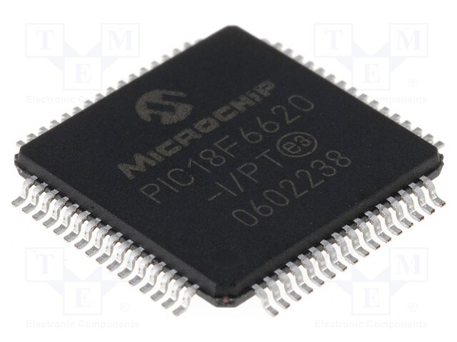 MICROCHIP TECHNOLOGY PIC18F6620-I/PT - Mikrokontroler PIC