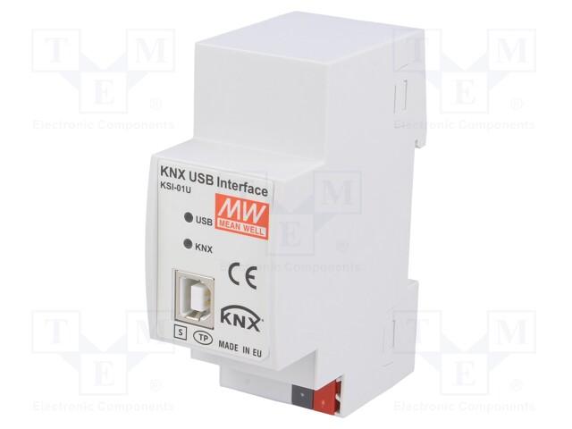MEAN WELL KSI-01U - Interfaccia KNX-USB