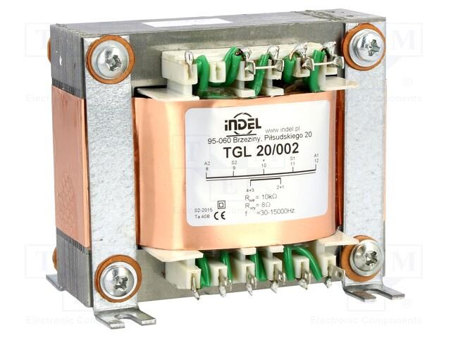 INDEL TGL 20/002 - Transformator: Lautsprecher