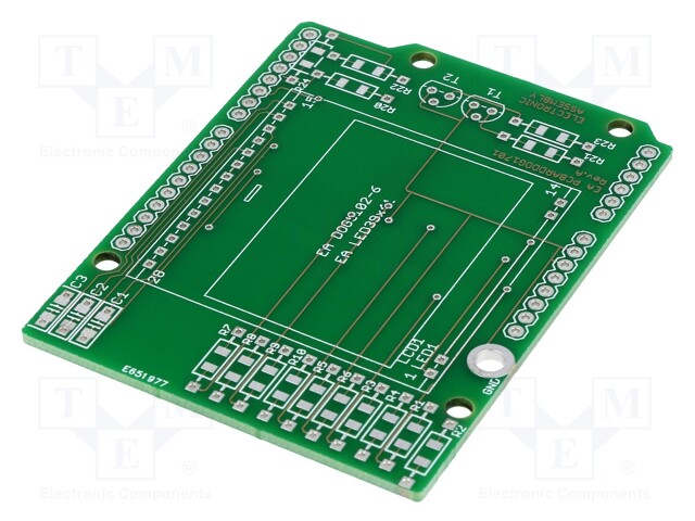 ELECTRONIC ASSEMBLY EA PCBARDDOG1701 - Płytka rozszerzająca
