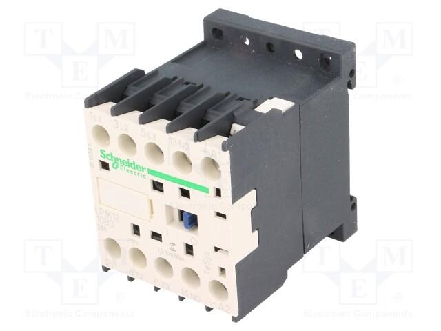 SCHNEIDER ELECTRIC LP1K1210BD - Érintkező: 3-pólusos