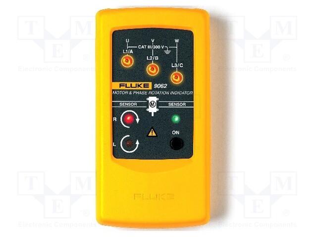 FLUKE FLUKE 9062 - Tester: kolejności faz