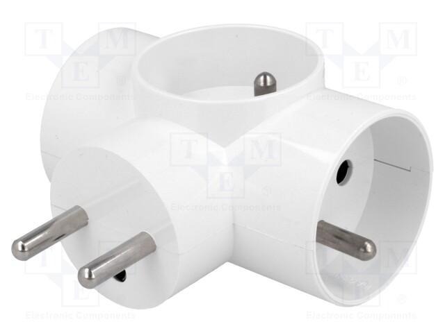 TIMEX-ELEKTRO R-31 - Connector: AC supply