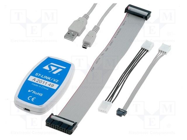 STMicroelectronics ST-LINK/V2 - Programátor: mikrokontroléry