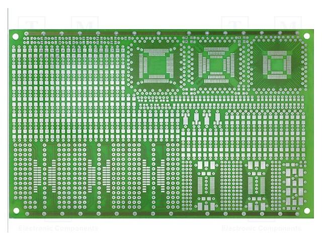MS-DIP/SMD3 - Plošný spoj: univerzální